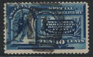 Scott E2- Used- 10c Special Postal Delivery- 1888- Back of Book BOB stamp