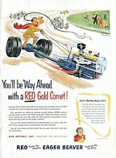 1952 REO Truck Gold Comet  Automobile Vintage Print Ad You'll Be Way Ahead