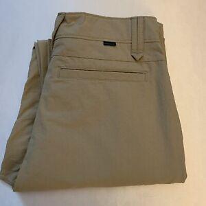 NWOT Oakley Mens Take 2.5 Golf Pants Tan Size 30x32 New $80 👀🔥