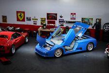 Bbs wheels perfect parts car BBurago 1991 BUGATTI EB 110 Diecast Car 1:18