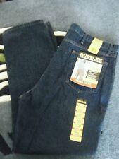 Rustler Mens Jeans Pants Size: 44 x 32 Blue Heavyweight Denim