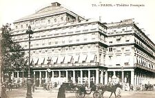 France Paris - National Theatre undivided back unused postcard
