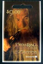 2001 NEW ZEALAND LORD OF THE RINGS STAMPS FELLOWSHIP OF THE RING BOOKLET 10 SALE