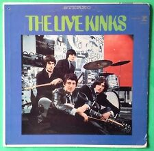 KINKS Live Kinks LP Vinyl VG++ 1967 RS 6260 1st US Press TRI-color Reprise Label
