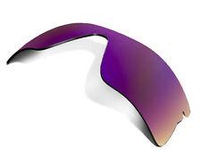 Replacement Lenses for Oakley Radar Range Sunglasses Anti-Scratch Purple Mirror