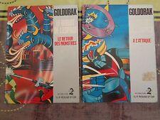 Lot de 2 albums GOLDORAK (1978)