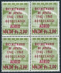 Venezuela C807 block/4,MNH.Mi 1457. Upata,village in State of Bolivar,200,1962.