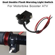 Double Flash Warning Light Switch Turn Signal Light Motorcycle Handlebar Switch
