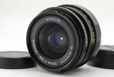 【B V.Good】 MINOLTA M ROKKOR 28mm f/2.8 MF Lens for Leica CL CLE From JAPAN R3319