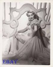 Jane Powell busty leggy VINTAGE Photo