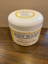 Body Boost Stretch Mark Butter Milk Honey Collagen Elastin 8oz Sealed