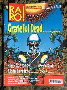 RARO! 129 Magazine about discography ps GRATEFUL DEAD Rino Gaetano Ska P