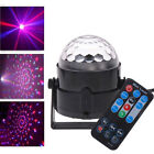 RGB DJ Disco Party Magic Ball LED Stage Lighting Crystal Effect + Remote Control
