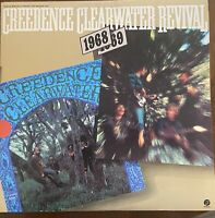 CREEDENCE CLEARWATER REVIVAL 1968/1969 Original Fantasy 2 LP EXCELLENT! Nice Set