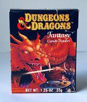 RARE Vintage 1983 Amurol Dungeons & Dragons FANTASY CANDY FIGURES Box MAGIC USER