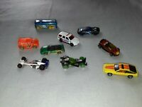 Collectable Hotwheels Cars Bundle joblot both vintage and modern vehicles x9