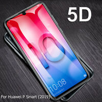 9H 5D Curved Tempered Glass Film for Huawei P Smart Y9 2019 Screen Protector