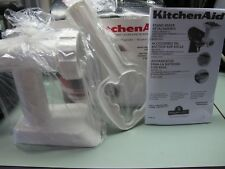 KITCHEN AID STAND MIXER ATTACHMENT GRINDER 2 BLADES MEAT CHEESE VEGS AND MORE EC