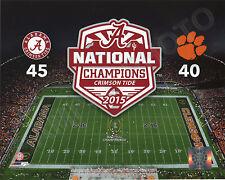 Alabama Crimson Tide 2015 NCAA Football National Champions 8x10 Photo #2
