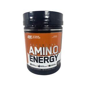 Optimum Nutrition Amino Energy - Orange, 65 Servings. Pre Workout.