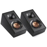 Klipsch R-41SA Surround Dolby Atmos Speakers Black PAIR, NEW