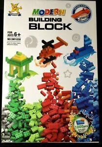 1000PCS CHILDREN DIY CREATIVE BRICKS COLOUR BUILDING BLOCKS TOY GIFT