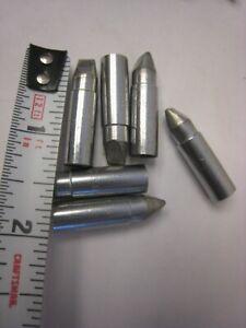 6 Weller Ungar U9963 Iron Clad Chrome Immunized Soldering chisel Tip 9963