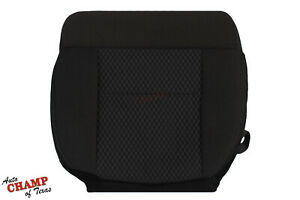 2007 2008 Ford F150 FX4 FX2 Sport - Driver Side Bottom Cloth Seat Cover Black