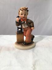National Potteries Napco Boy on Telephone - Is She Home? Vintage 1950s Figurine