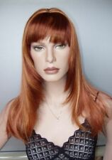 Sharon Wig .. Color  R147.  Gorgeous Mix Of REDS! *  Best Seller for 17 years!