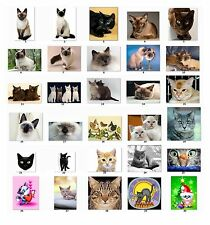 30 Personalized Return Address labels Cute Cats Buy 3 get 1 free {c1}