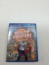 Nuevo Precinto de Fábrica Reality Fighters(Sony PLAYSTATION Vita , 2012) P12
