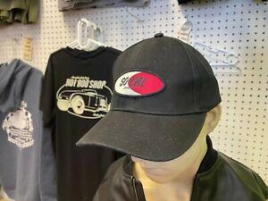 So-Cal Speedshop baseball cap black logo adjustable hat hot rod kustom rat rod