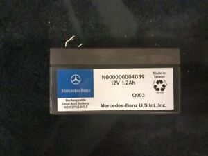 Genuine Mercedes Benz Auxiliary Battery N000000004039 NEW