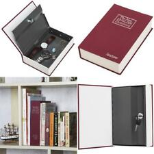 Book Safe Box Lock Vault Water Fire Proof Home Sentry Money Gun Cash Protection