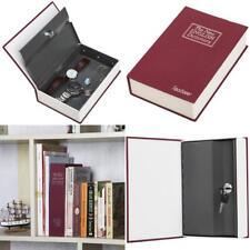 Book Safe Box Lock Vault Water Fire Proof Home Sentry Money Gun Cash Protection