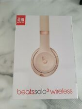 Beats Solo3 Wireless Headphones Satin Gold **BNIB & Sealed** Free Fast Delivery!