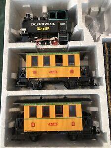"LGB 20701 DC  D.C.&GR.W.R. Passenger Train Set ""Little Billy"""