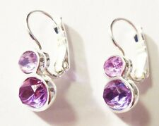 M12 Lia Sophia jewelry purple earrings
