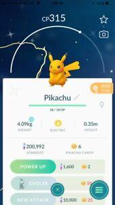 Pokemon Legendary Go Shiny Pikachu Same Day Trade Or 30 Day