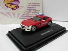 """Schuco 00333 - Mercedes-Benz AMG GT S Feuerwehr in """" rot-weiß """" 1:87 NEU"""