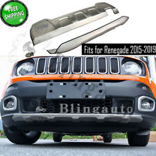 Fits for Jeep Renegade 2015-2019 front and rear skid plate protect bumper board