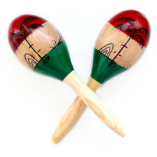 Shakers Rattles Sand Hammer Percussion Instrument Wooden Large Maracas Rumba