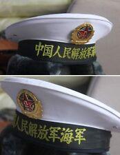 PLA NAVY M04 HAT CHINA RARE military udssr soviet army chinese (H09)