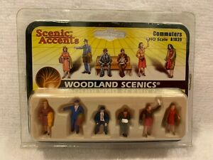 Woodland Scenics Scenic Accents Commuters #A1839 HO Scale