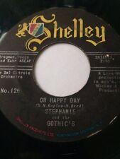 "RARE TEEN DOO-WOP 45/ STEPHANIE & GOTHIC'S ""OH HAPPY DAY""    HEAR!"
