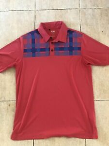 Adidas ClimaCool Golf Polo Shirt T Shirt Size XL Loose Fit