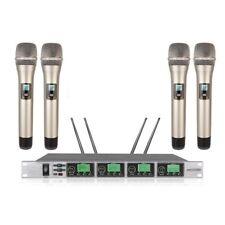 Wireless Microphone Handheld karaoke microfoon draadloos 4 channels wireless mic