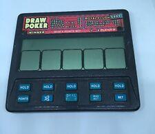 Radica Draw Poker Royal Flush 5000 Portable Electronic Handheld Game Model 1410