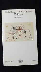 Zamponi, Piumini: Calicanto. La poesia in gioco. Einaudi, 2007